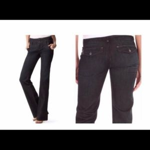 Paige Womens Foothill Black Pants 28